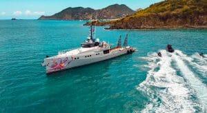 the Damen Yachting megayacht Pink Shadow