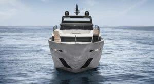 Sanlorenzo SL120A superyacht, the flagship of the Asymmetric series