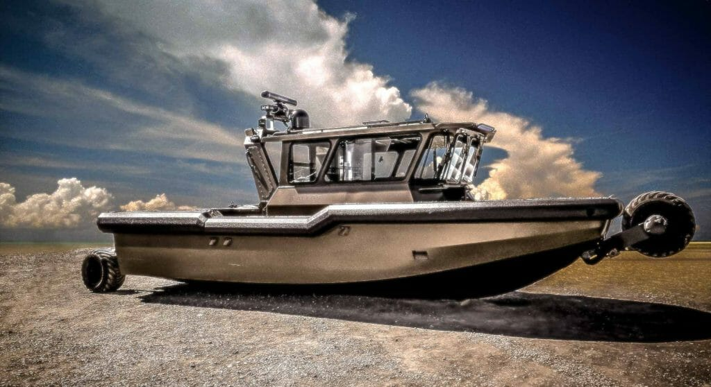 the Sealegs IKA11 is up for auction, possibly as a megayacht tender